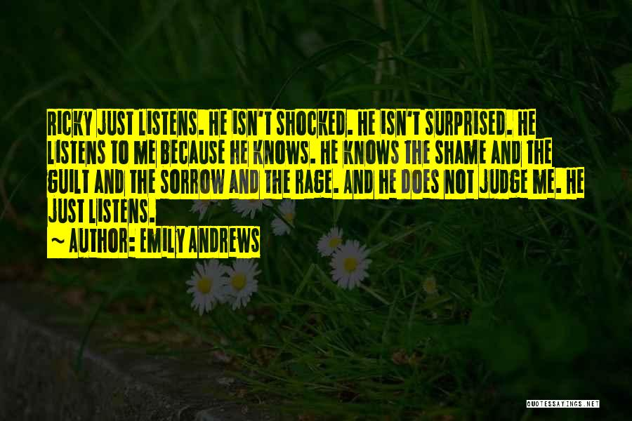 Judgement Quotes By Emily Andrews