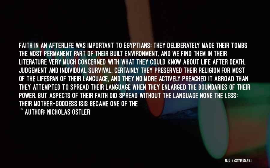 Judgement Quotes By Nicholas Ostler
