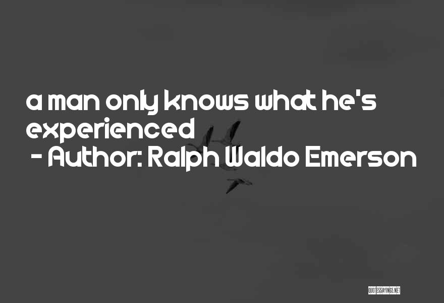 Judgement Quotes By Ralph Waldo Emerson