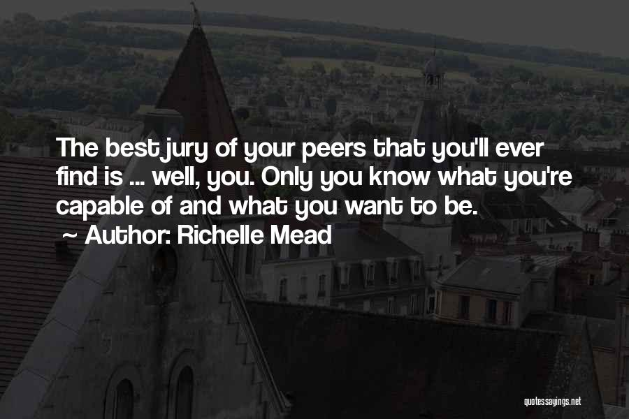 Judgement Quotes By Richelle Mead