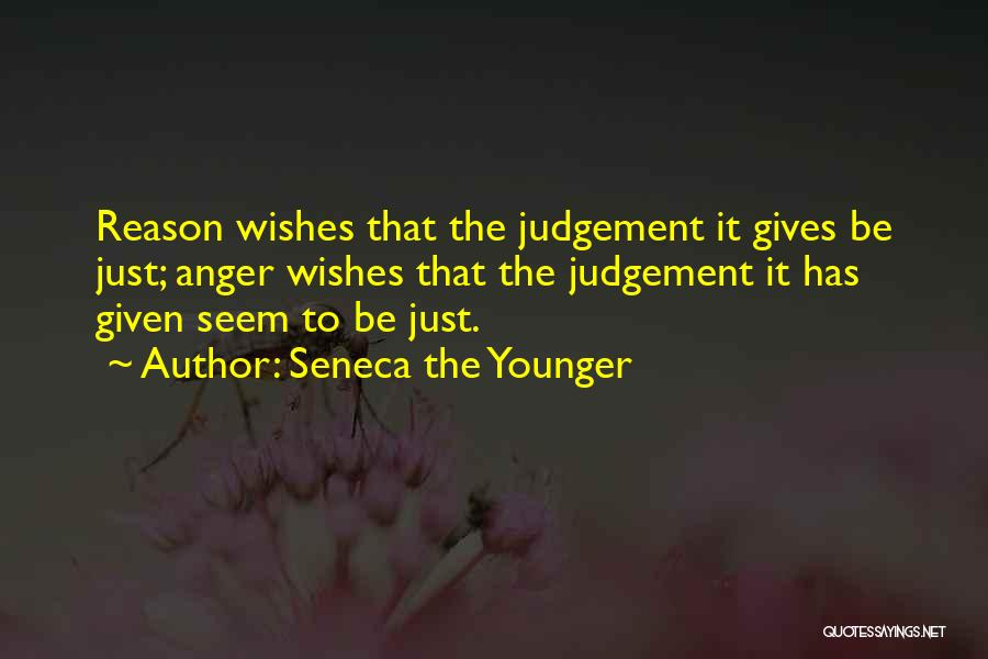 Judgement Quotes By Seneca The Younger