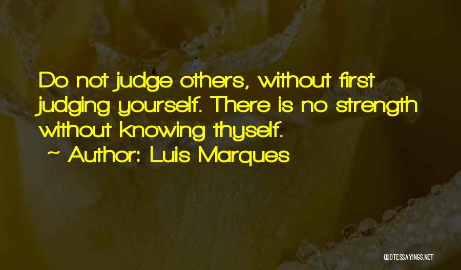 Judging Bible Quotes By Luis Marques