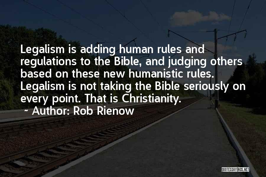 Judging Bible Quotes By Rob Rienow