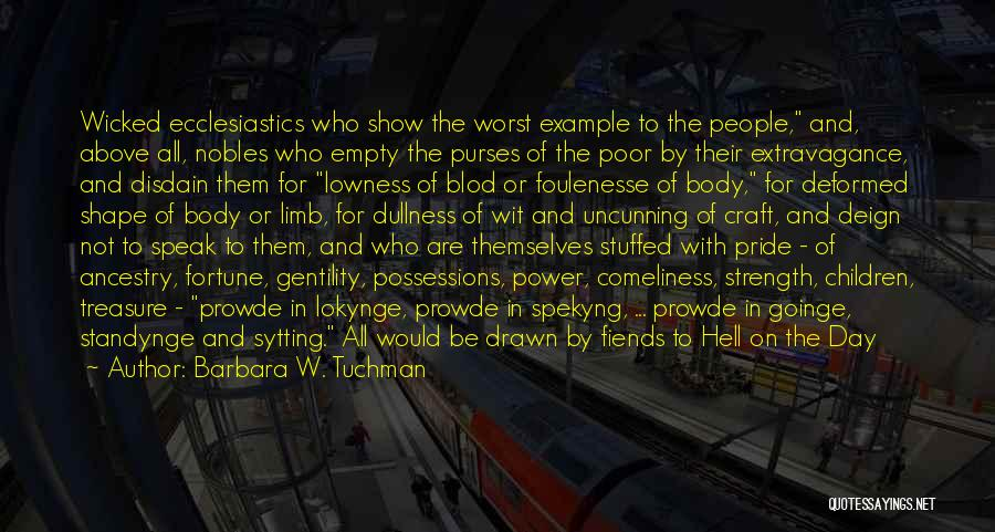 Judgment Quotes By Barbara W. Tuchman