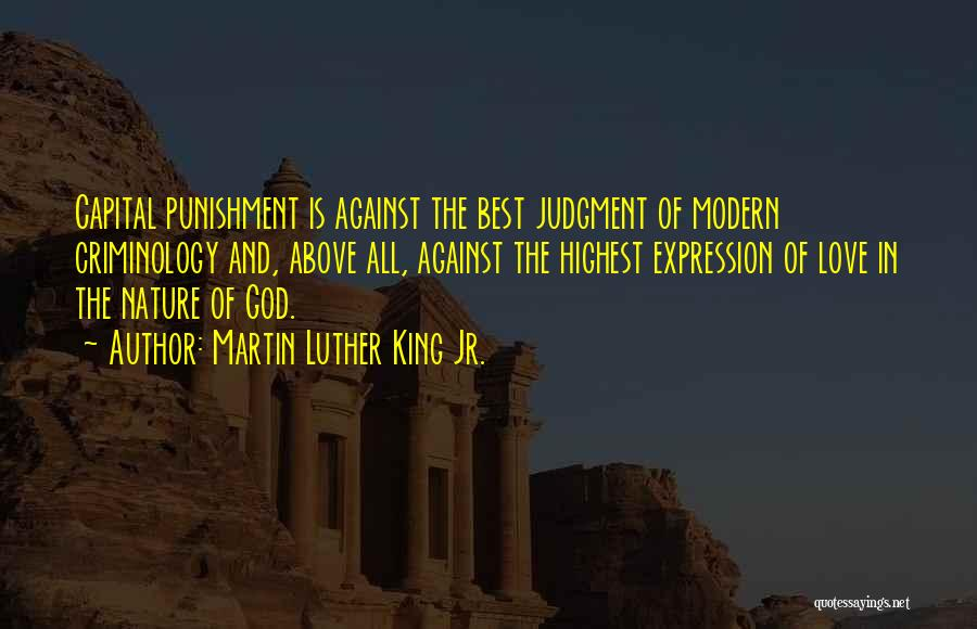 Judgment Quotes By Martin Luther King Jr.