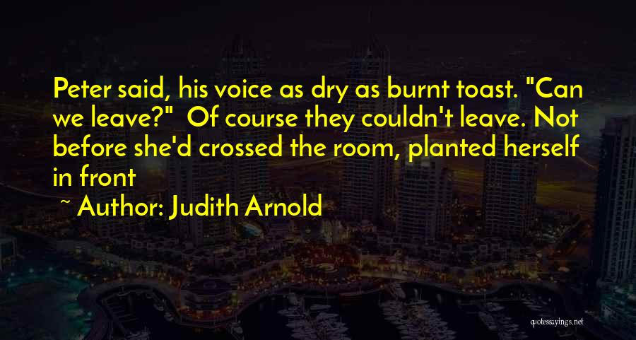 Judith Arnold Quotes 2149474