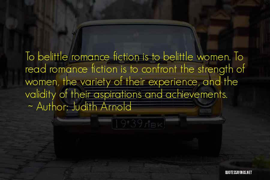 Judith Arnold Quotes 360110