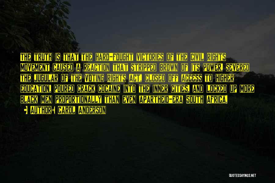 Jugular Quotes By Carol Anderson