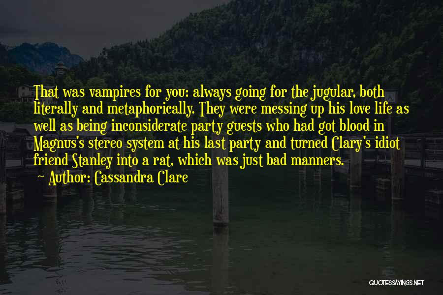 Jugular Quotes By Cassandra Clare