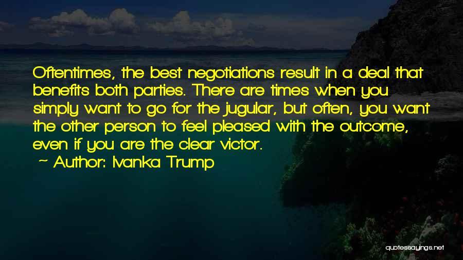 Jugular Quotes By Ivanka Trump