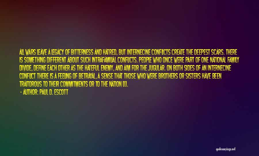 Jugular Quotes By Paul D. Escott