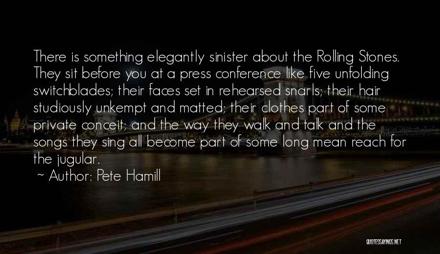 Jugular Quotes By Pete Hamill