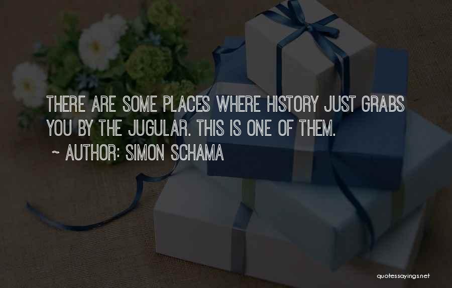 Jugular Quotes By Simon Schama