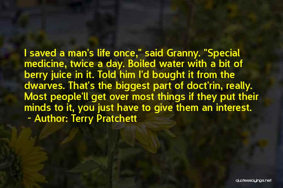 Juice Terry Quotes By Terry Pratchett