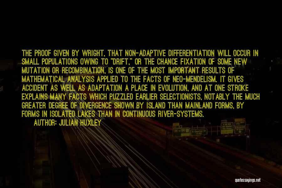 Julian Huxley Quotes 1489221