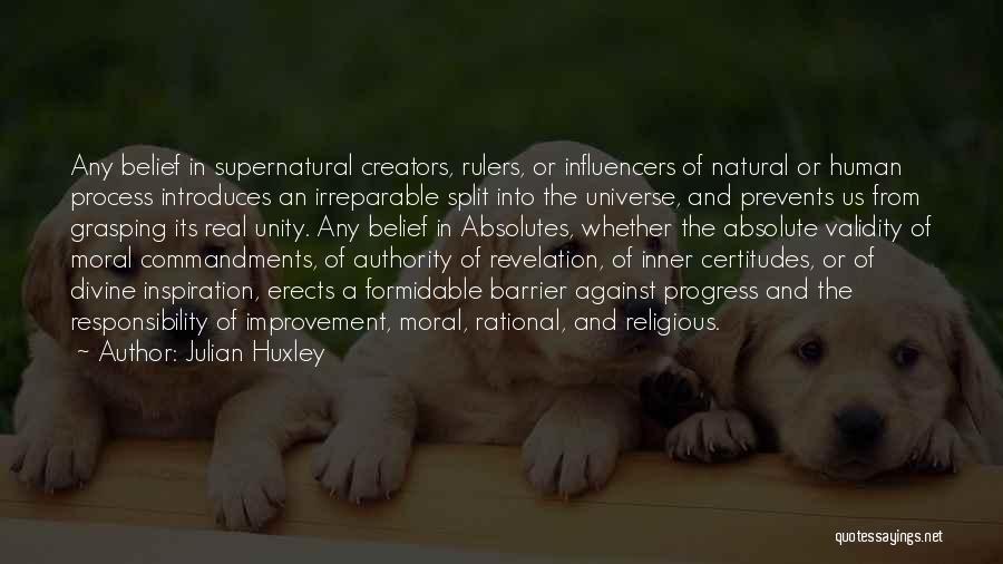 Julian Huxley Quotes 2129962