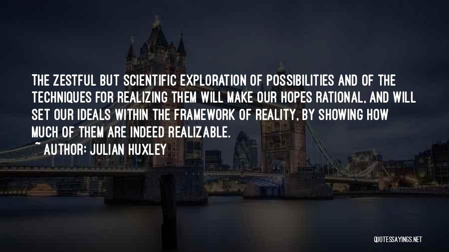 Julian Huxley Quotes 706842