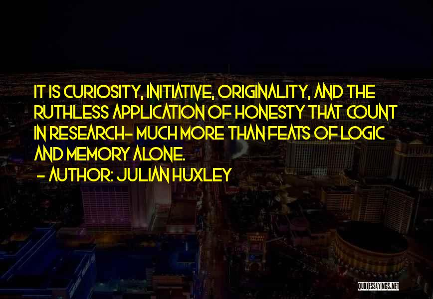 Julian Huxley Quotes 754303