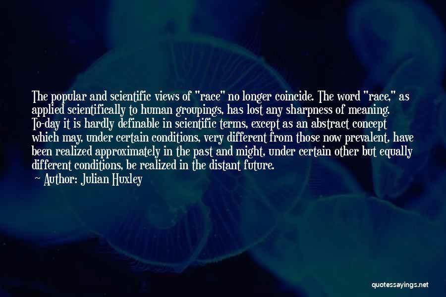 Julian Huxley Quotes 853340