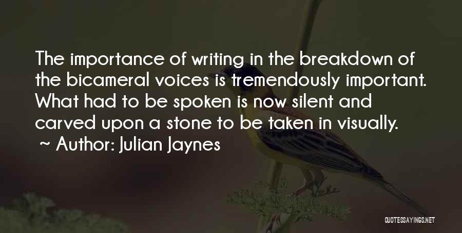 Julian Jaynes Quotes 1434071