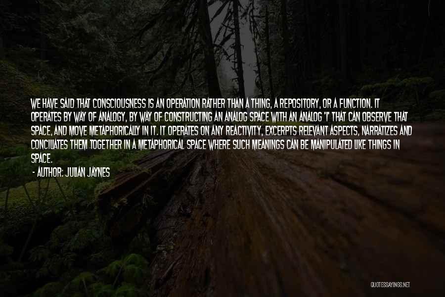 Julian Jaynes Quotes 1458465