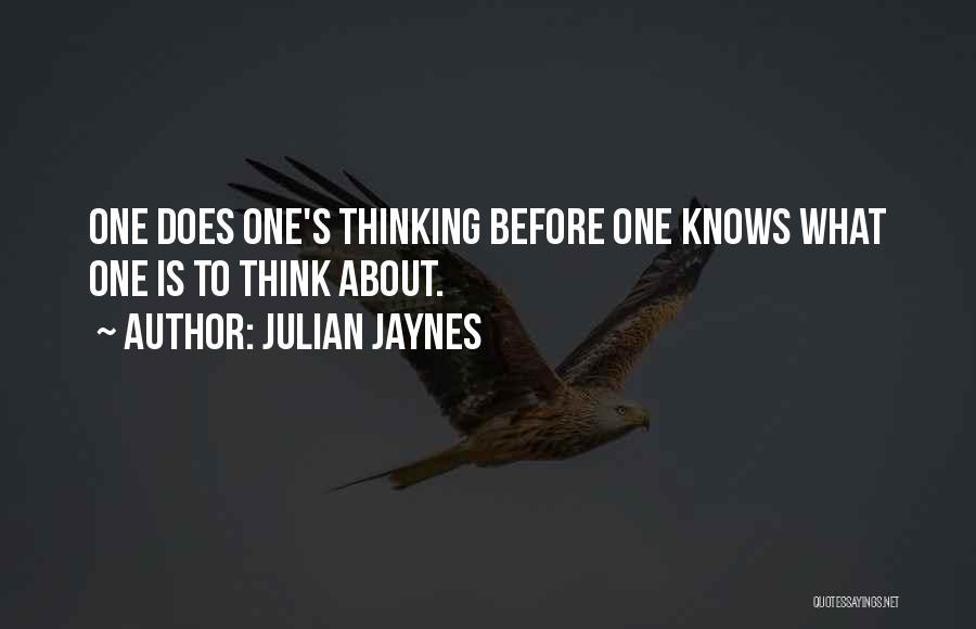 Julian Jaynes Quotes 2022267