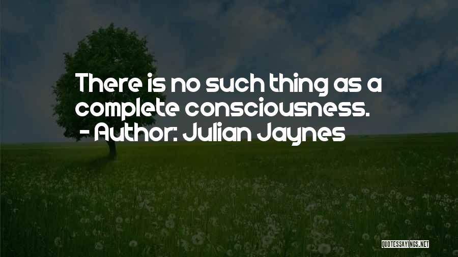 Julian Jaynes Quotes 720363