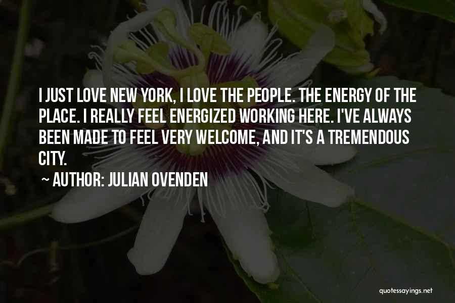 Julian Ovenden Quotes 2036448