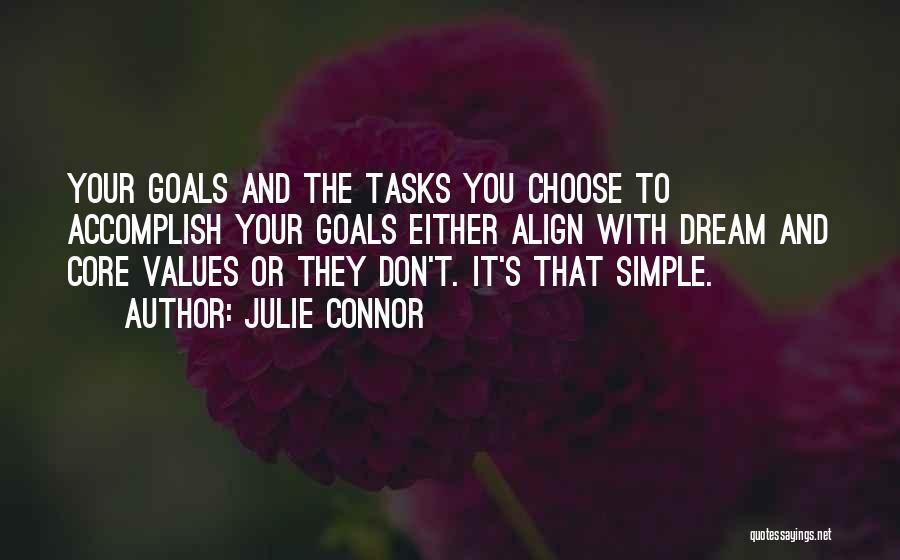 Julie Connor Quotes 961007