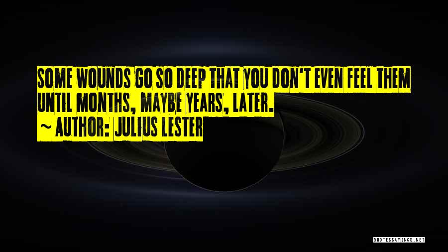 Julius Lester Quotes 1034216