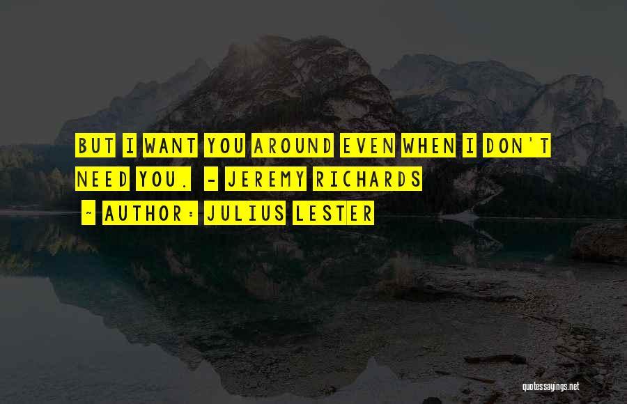 Julius Lester Quotes 171894