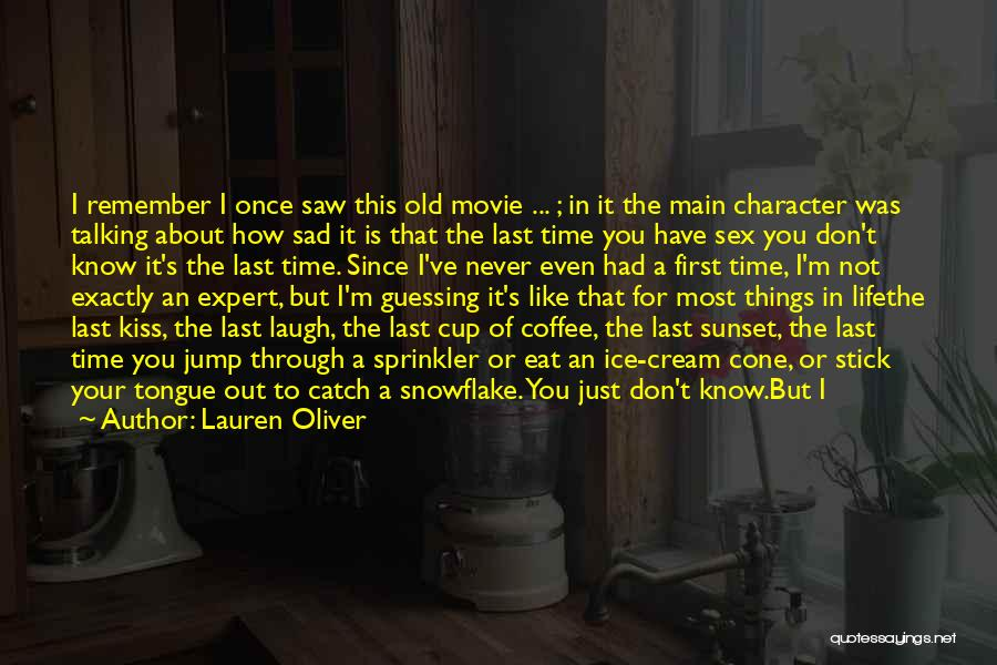 Jump Off The Edge Quotes By Lauren Oliver