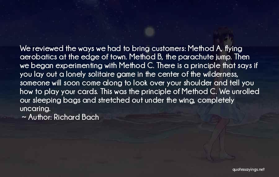 Jump Off The Edge Quotes By Richard Bach