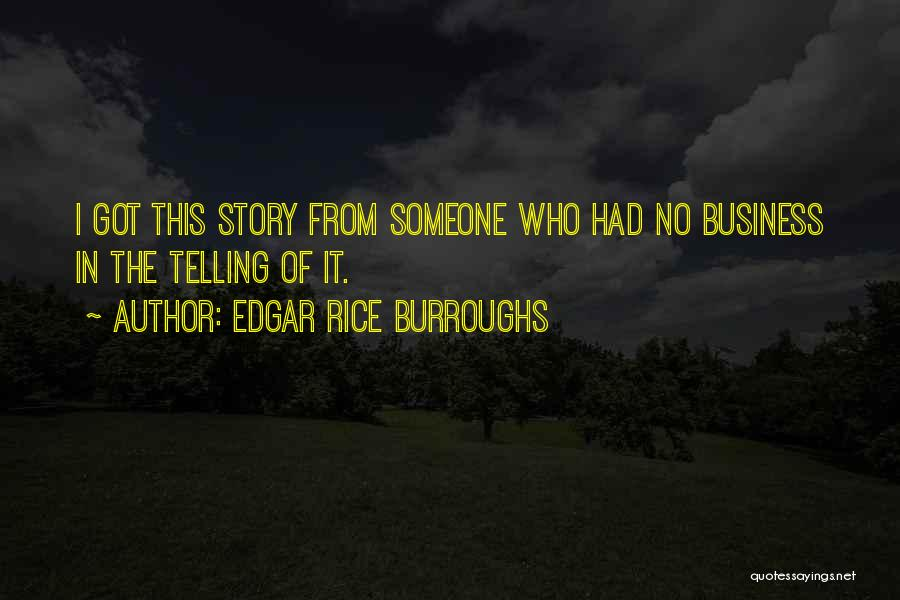 Jungle Quotes By Edgar Rice Burroughs