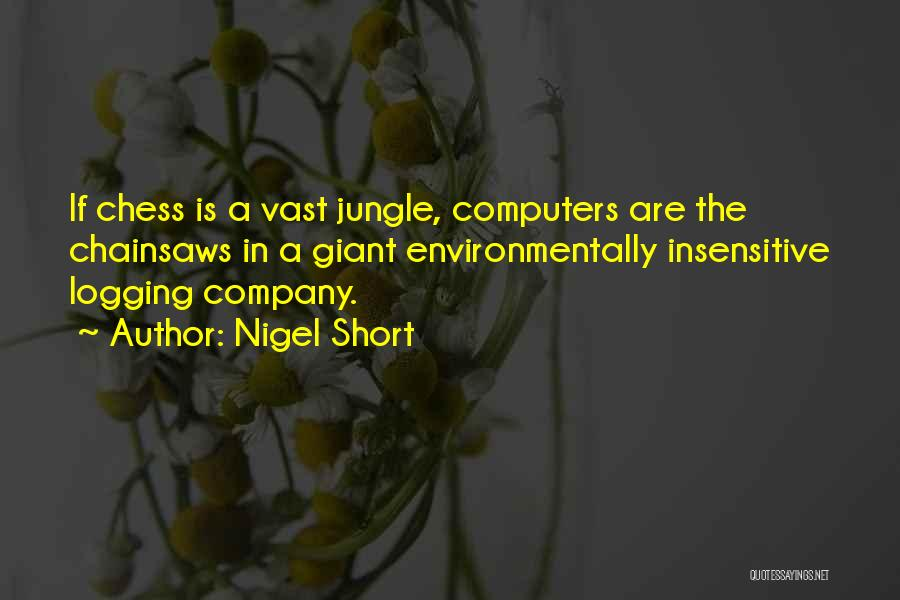 Jungle Quotes By Nigel Short