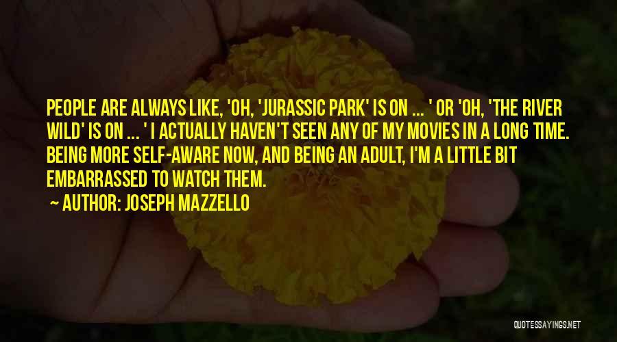 Jurassic Park 3 Quotes By Joseph Mazzello