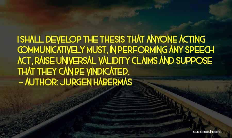 Jurgen Habermas Quotes 1757459