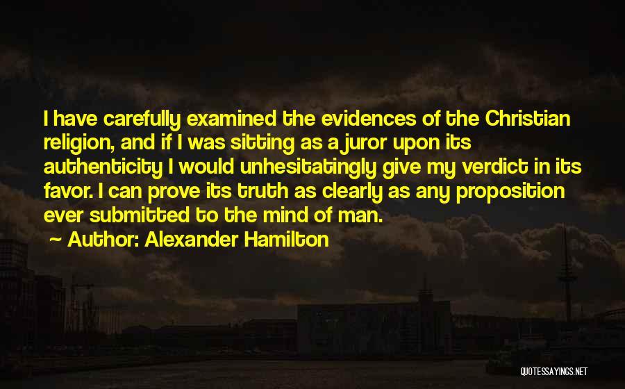 Juror 2 Quotes By Alexander Hamilton