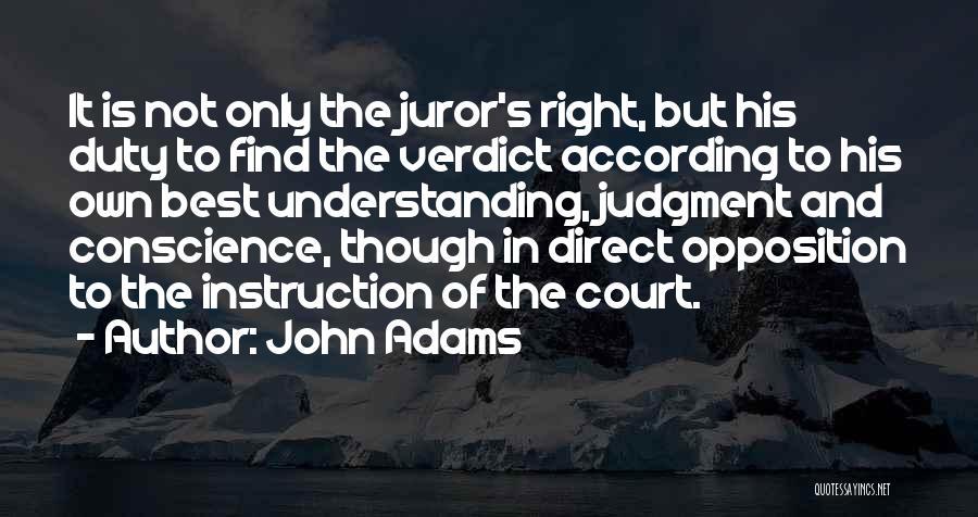 Juror 2 Quotes By John Adams