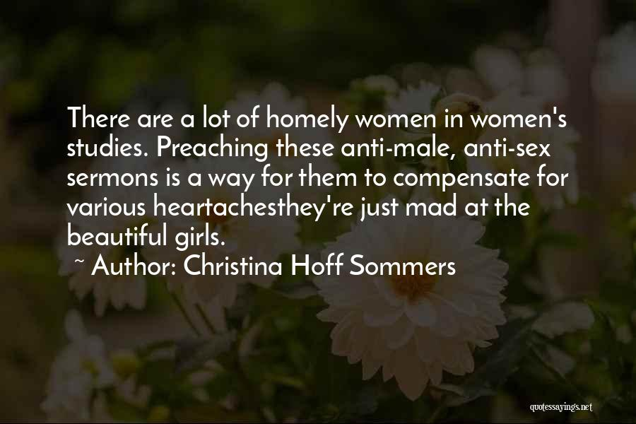 Just A Girl Quotes By Christina Hoff Sommers