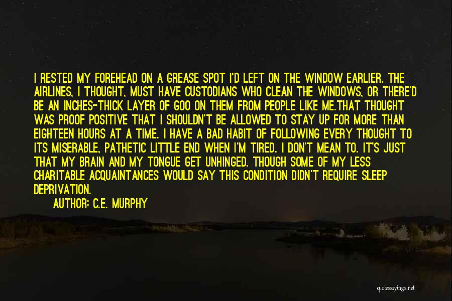 Just A Little More Time Quotes By C.E. Murphy