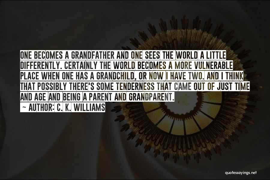 Just A Little More Time Quotes By C. K. Williams