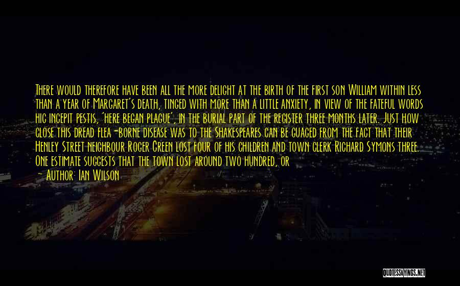 Just A Little More Time Quotes By Ian Wilson
