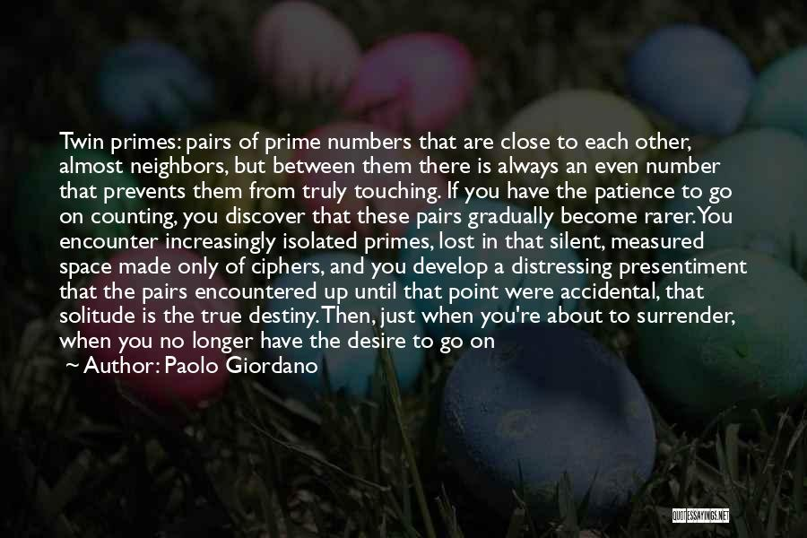Just Another Number Quotes By Paolo Giordano