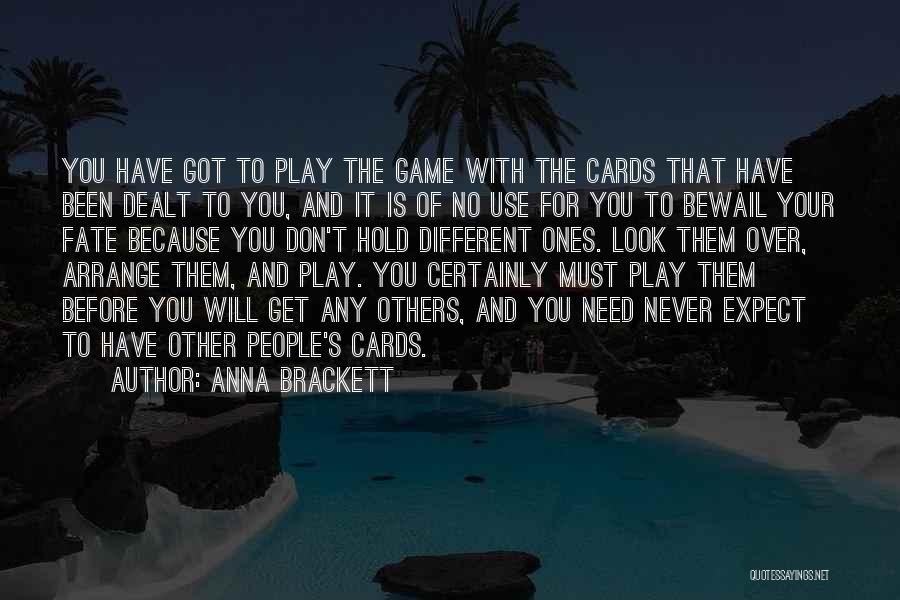 Just Because Cards Quotes By Anna Brackett