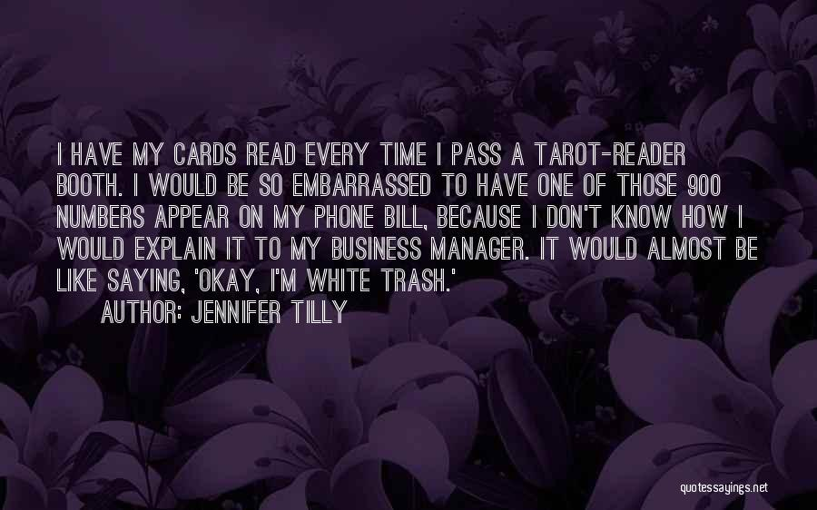 Just Because Cards Quotes By Jennifer Tilly