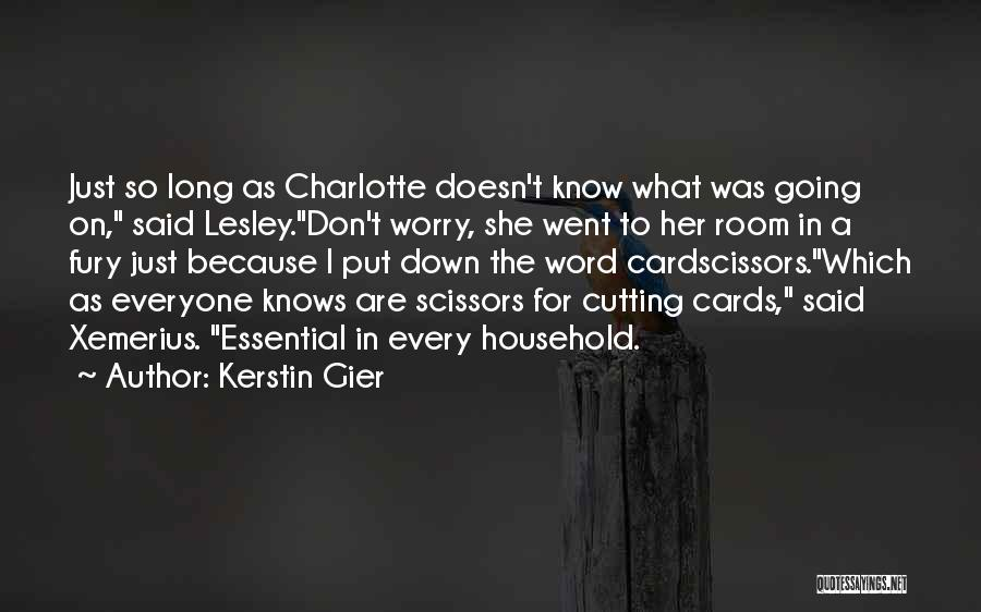 Just Because Cards Quotes By Kerstin Gier