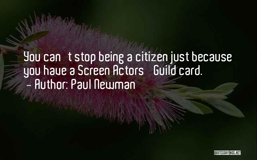 Just Because Cards Quotes By Paul Newman