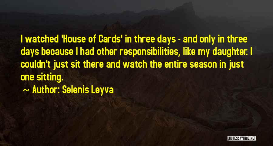 Just Because Cards Quotes By Selenis Leyva