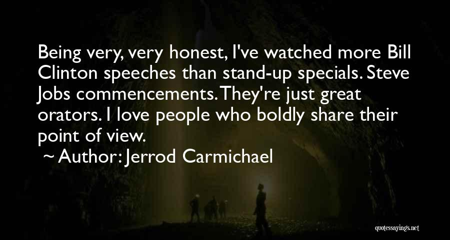 Just Being Honest Quotes By Jerrod Carmichael
